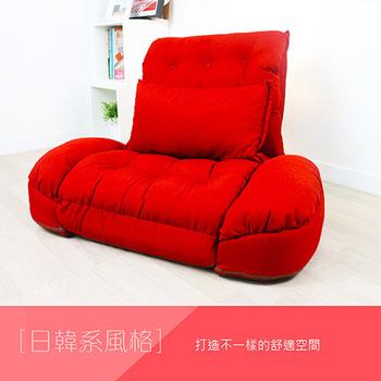 KOTAS 艾希多功能扶手沙發床(單人超大型)(熱戀紅)
