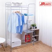 《JR創意生活》多功能衣櫥組 43X110X170.5cm 置物架/收納架/多層 衣櫃