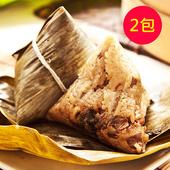 《樂活e棧》頂級 素食 滿漢粽子(6顆/包 ,共2包)
