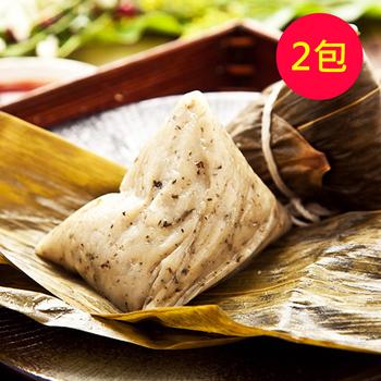 《樂活e棧》素食 客家粿 粽子(6顆/包,共2包)