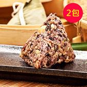 《樂活e棧》三低 素食 養生粽子(6顆/包,共2包)