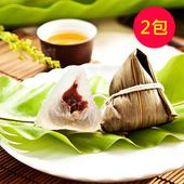 《樂活e棧》包心冰晶Q粽子-紅豆口味(6顆/包,共2包)