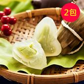 《樂活e棧》包心冰晶Q粽子-抹茶口味(6顆/包,共2包)