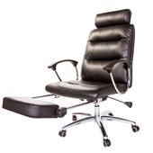 《GXG》高背皮面 電腦椅 TW-161 (躺椅款式)(黑色)