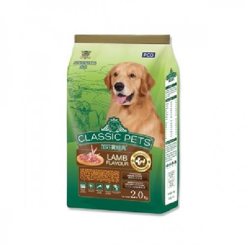 加好寶 經典乾狗糧(羊肉口味2kg/袋)