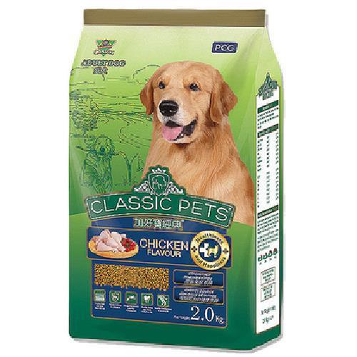加好寶 經典乾狗糧(雞肉口味2kg/袋)