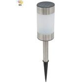 《月陽》歐式 太陽能 充電式 自動光控LED庭園燈 草坪燈 插地燈 超值2入(5013A2)
