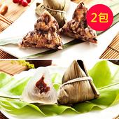 《樂活e棧》潘金蓮素食嬌粽子+包心冰晶Q粽(6顆/包,共2包)