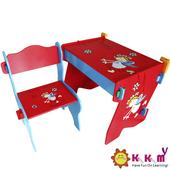 《Kikimmy》活潑天使收納桌椅組