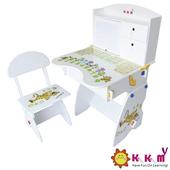 《Kikimmy》日風升降書桌椅組