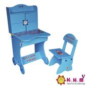 《Kikimmy》美式升降書桌椅組