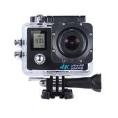 《U-ta》4K高清畫質WIFI雙螢幕潛水運動攝影機SHD(贈搖控器)可當行車紀錄器(黑色)