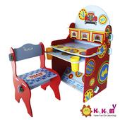 《Kikimmy》小汽車書桌椅組