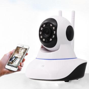 視訊王 高畫質WIFI雙天線紅外線夜視監控攝影機(白)