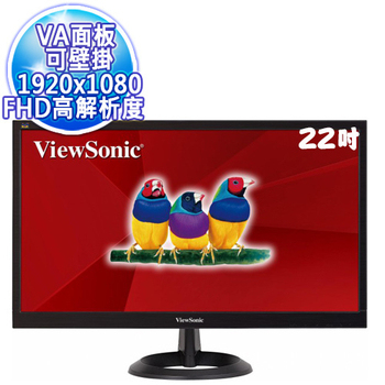 優派 ViewSonic VA2261-8 22型寬螢幕 Full HD LED Monitor顯示器