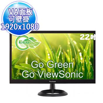 優派 ViewSonic VA2261-2 22型寬螢幕Full HD LED 顯示器