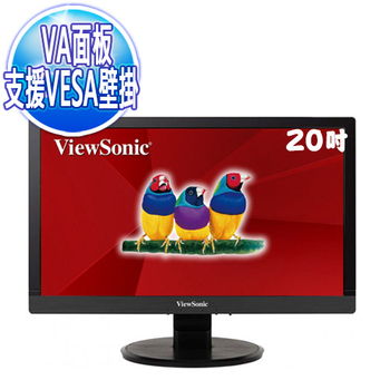 《優派 ViewSonic》VA2055SM 20型VA寬螢幕 顯示器