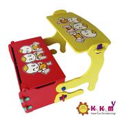 《Kikimmy》四合一多功能書桌椅組