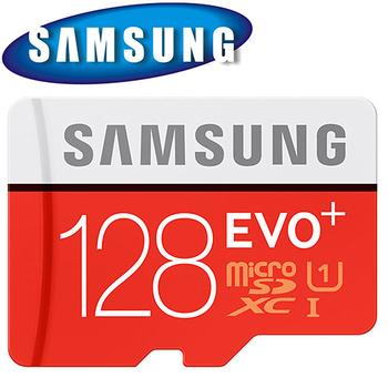 三星 Samsung 128GB 80MB/s EVO+ microSDXC TF U1 C10 記憶卡