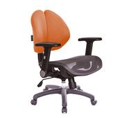 《GXG》雙背網座 電腦椅 TW-2997E1C (附拆洗布套)(請備註顏色)