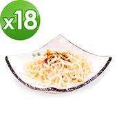 《樂活e棧》低卡 蒟蒻麵 燕麥拉麵(210g/包,18包組)(豆瓣醬)1/1-1/31