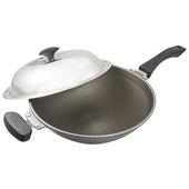 《清水》易潔鑄造不沾炒鍋(37cm)