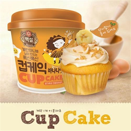 韓國 DIY杯子蛋糕-香蕉(60g)