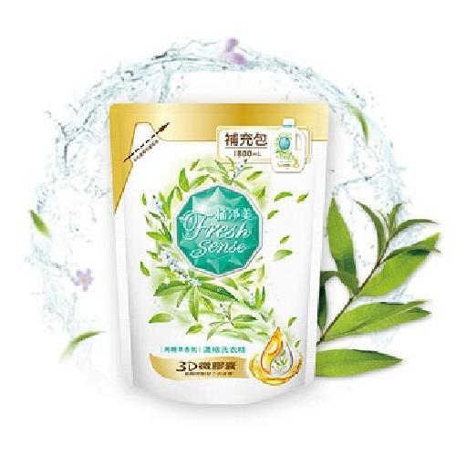植淨美 濃縮洗衣精補充包(馬鞭草香氛-1800ml)