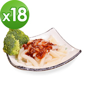 《樂活e棧》低卡 蒟蒻麵 義大利麵(210g/包,18包組)(豆瓣醬)