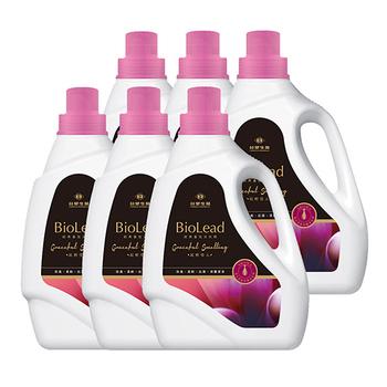 《台塑生醫BioLead》經典香氛洗衣精 紅粉佳人2kg(6瓶入)