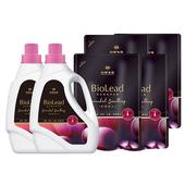 《台塑生醫BioLead》經典香氛洗衣精 紅粉佳人*(2瓶+4包)