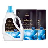 《台塑生醫BioLead》經典香氛洗衣精 天使之吻*(1瓶+2包)