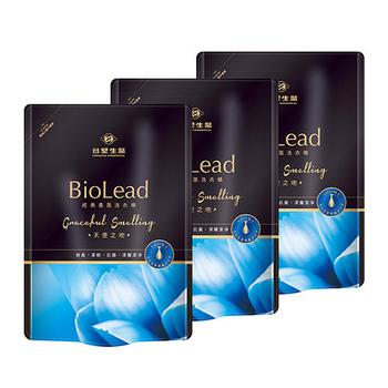 《台塑生醫BioLead》經典香氛洗衣精補充包 天使之吻1.8kg(3包入)