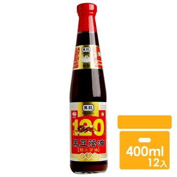 《黑龍》秋菊級黑豆蔭油膏(400mlx12罐)