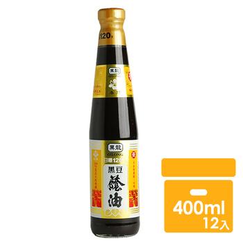 黑龍 春蘭級黑豆蔭油膏(400mlx12罐)