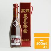 《黑龍》特級黑豆蔭油膏(600mlx3)