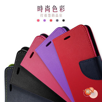 《OPPO》R9s Plus ( CPH1611 )   新時尚 - 側翻皮套(紅色)