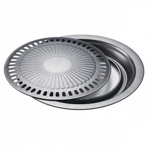 捷寶 圓形低脂不沾烤盤 JCH880