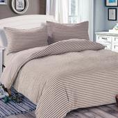 《Victoria》日式條紋單人床包被套枕套三件組-雅致(3.5x6.2尺)