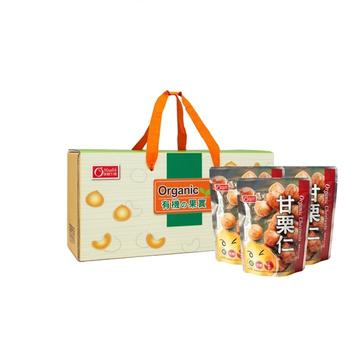 《康健生機》京東 有機 板栗 禮盒-含運(150g/包*6入)