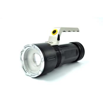 HANLIN S6-L2強光手提探照燈-巡邏/夜遊/露營/釣魚(含電池3顆及充電器)
