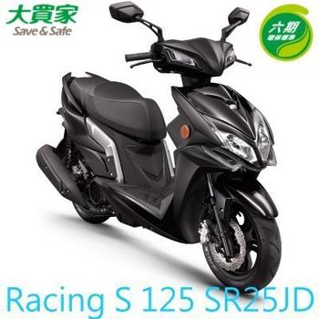 KYMCO光陽機車 Racing S 125 六期 (SR25JD) 2018全新車(平光黑NH397FA)