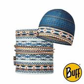 《BUFF》Polar保暖帽+雙面保暖領巾 組合 綠林派對#BF113461-555-10
