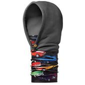 《BUFF》汽車大全 兒童POLAR保暖連帽 頭巾-黑#BF108162