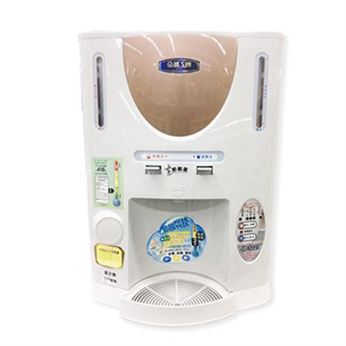晶工牌 節能全自動溫熱開飲機10.5L JD-3223