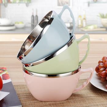 《巴芙洛》新創意真方便泡麵碗★三款顏色任選★(北歐綠)