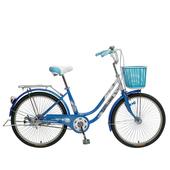 《SPORTONE》U1-LITE 24吋 淑女車Cinderella灰姑娘 低跨點設計公主 學生車 時尚復古風天空藍 $2800