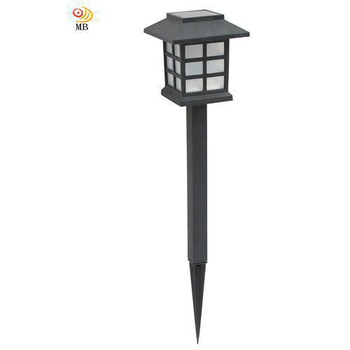 《月陽》古典太陽能 充電式 自動光控LED庭園燈草坪燈 插地燈 超值2入(50252)