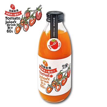 好結果 高雄美濃 橙蜜香 小蕃茄汁(300mlX9瓶)