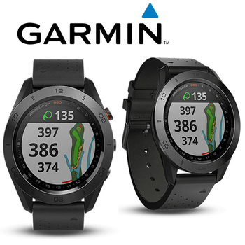 《Garmin》Approach S60 尊爵版 進階高爾夫球GPS腕錶(尊爵黑)